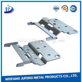 Aço inoxidável que carimba a dobradiça da porta/indicador com chapeamento do zinco