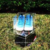 25 Anos acrílico transparente Fornecido de Fábrica de Caixas de armazenamento de sapata decorativas
