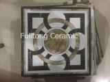 azulejos de suelo esmaltados de cerámica de la pared de la inyección de tinta de los más nuevos diseños de 300X300m m
