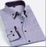 두 배 Collar Men Dress Shirt /Men ' s Longsleeve Shirt