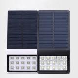 Indicatore luminoso solare esterno del sensore di movimento di uso domestico, indicatore luminoso solare impermeabile della parete del LED per il giardino/poveri di nuoto