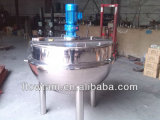 400L acero inoxidable con camisa Cremas inclinable Cooker