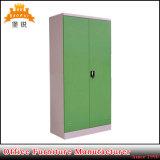 2つのドアの金属のロッカー様式の収納キャビネット/金属の収納キャビネット
