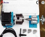 Mini eje rotatorio 6090 de la fresadora 4 del CNC de /Mini del ranurador del CNC de la máquina 600*900*110m m del ranurador del CNC