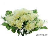 인공 적이고 Plastic/Silk Flower Chrysanthemum 부시 (2818064-19)