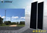 IP65 긴 수명 100W 통합 태양 에너지 LED 가로등