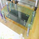 4-12mm verre trempé clair avec bords ronds