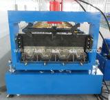 Auto plataforma de assoalho de alta velocidade da folha de metal que faz a máquina