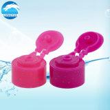 Cor da tampa articulada para frasco de plástico