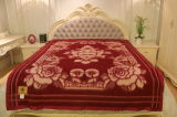 チベットヒツジのウール毛布のカシミヤ織ファブリックヤクのウールの織物か寝具