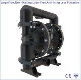 """3 """" Un grand débit d'aluminium de la pompe entraînée par l'air à double membrane"""