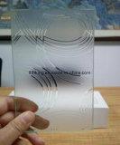 明確な8mm超またはシルクスクリーンまたは酸は緩和されたガラスをエッチングした