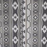 Weinlese poliertes Faux PU-Polyester-Kunstleder-Beutel-Schuh-Gewebe