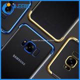 Chapado de suave transparente para Samsung Galaxy Caso