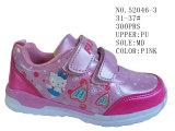 Малыш ботинок 52046 девушок обувает ботинки штока спорта велкроего