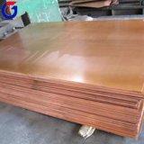 En repérant la plaque de cuivre, cuivrer le prix de fournisseur de feuille