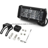La barra de luz LED 36W 2pcs 6.5inch inundar LED apagado las luces de carretera Super brillante luz de niebla de conducción de las luces de barcos de las luces de conducción de luz LED de trabajo SUV Jeep lámpara