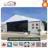 Flugzeug-Hangar-Zelt mit grosser Walzen-Tür für Hangar und Hubschrauber