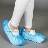 Cubierta plástica disponible del zapato del polietileno de la venda de elástico que hace la máquina