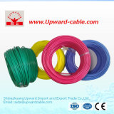 UL1015 FLEXIBLE EN PVC personnalisée sur le fil électrique du câble en cuivre massif