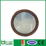 Алюминиевые окна за круглым столом с проводным стекла