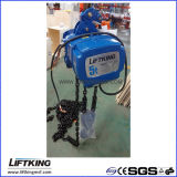 Liftking 5t Dual Speed Electric Chain Hoist met Hook Suspension (ECH 05-02D)
