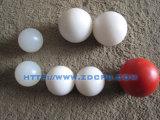 Esferas duras personalizadas/gato plásticos grandes e pequenos cão de animal de estimação que joga esferas da borracha do brinquedo