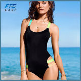 Одна часть плюс способ Бикини Beachwear размера для женщин