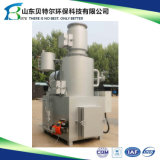 30-50kg/Time l'inceneratore per la cremazione dell'animale domestico, ospedale ha utilizzato l'inceneratore residuo