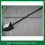 Pala de acero larga de la maneta de la herramienta de mano de la pala