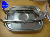 KreisEdelstahl-Becken-Druck Manway AISI 304 AISI 316