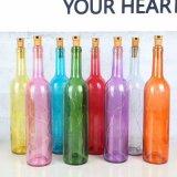 Bottiglia di vetro su ordine per la decorazione partito/della casa