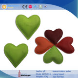 En forme de coeur en gros Custom Promotionla Leather Paper Weight (4774R12)