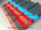 Плитки крыши материала толя PVC изоляции крыши дома пластичные