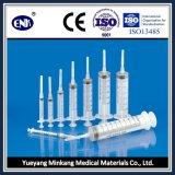 Medische Beschikbare Spuiten, met Naald (10ml), Slot Luer, met Goedgekeurde Ce&ISO