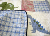 2 equipos de ropa de cama de algodón bordado Bebé (Hijos) Colcha