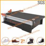 Máquina de estaca de vibração dos calçados da faca da estrela excelente com sistema deAlimentação 2516