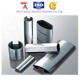 SUS 304, de Pijp van de Groef van Roestvrij staal 316 voor de Leuning van het Glas