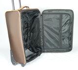 柔らかい荷物は4つの車輪の荷物袋旅行袋のスーツケースをセットした