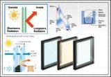 El vidrio aislado Inferior-e Mitad-Endureció/vidrio aislado endurecido
