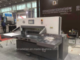 Máquina hidráulica do cortador de papel de controle de programa