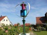 Système de grille de générateur d'énergie éolienne verticale de 1kw Maglev pour la zone éloignée