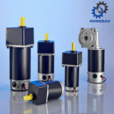 Motor eléctrico de la C.C. de Hongdao 75W 24V para Robot_D