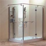 Porta do vidro Tempered usada no banheiro