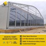 500 людей освобождают прозрачный шатер случая шатёр с кондиционером