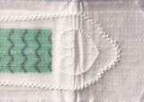 Guardanapo 100% sanitário do algodão para o uso da senhora dia