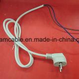 cable eléctrico negro de Israel de la aprobación del Sii del 1.2m con IEC C5