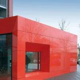 Rivestimento di alluminio materiale della parete della decorazione durevole