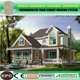 Hogar prefabricado reciclado móvil de la casa prefabricada plegable de energía solar de la comodidad