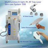 4 in 1 (IPL+RF+Elight +laser) To hate Removal Skin Rejuvenation Tattoo Removal Machine